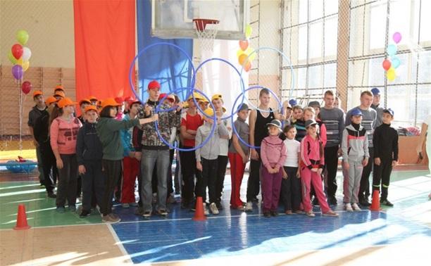 В Щекино посоревновались дети с ограниченными возможностями здоровья