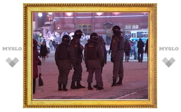 На Манежной площади задержано 20 человек