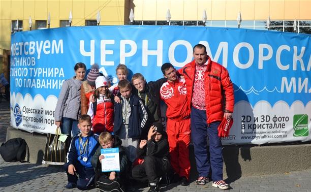 Юные тульские пловцы произвели фурор в Одессе