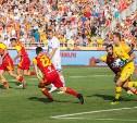 На матче «Арсенала» и «Динамо» в Туле болельщики поддержали команды в соцсетях