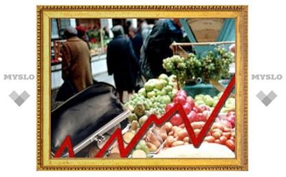 В Тульской области цены выросли почти на 0,5%