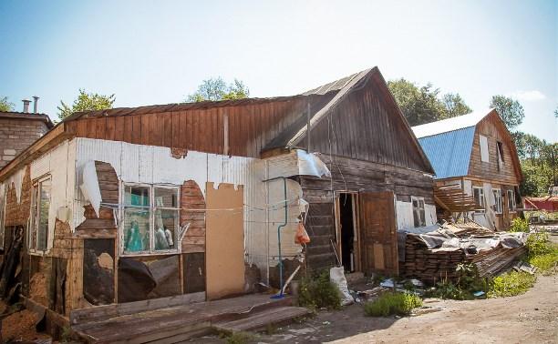 На Косой Горе разбирают незаконные цыганские дома