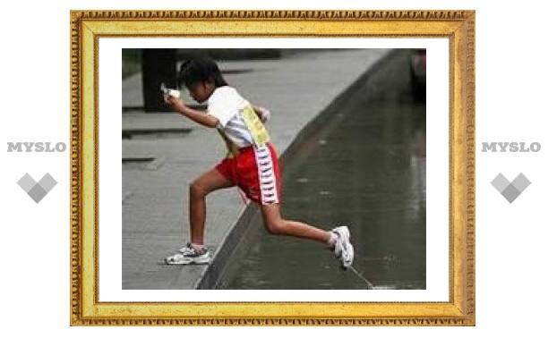 Восьмилетняя китаянка пробежала 3558 километров в честь Олимпиады