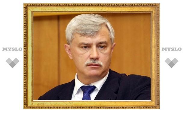 Полпреду президента по ЦФО предложили питерское губернаторское кресло
