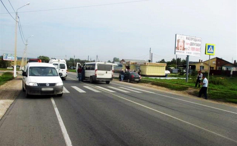 В Туле пенсионерку сбили на пешеходном переходе