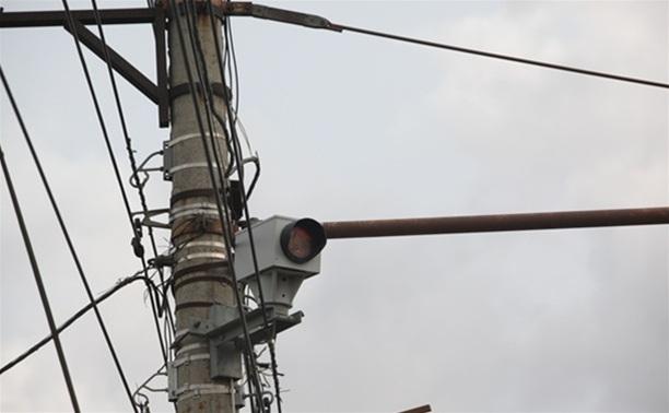 В городе установлено восемь дорожных камер
