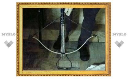 Туляков поймали во время стрельбы героином и «травкой» из арбалета