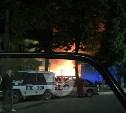 В Суворове ночью произошел крупный пожар