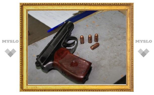 Туляк незаконно изготовил пистолет