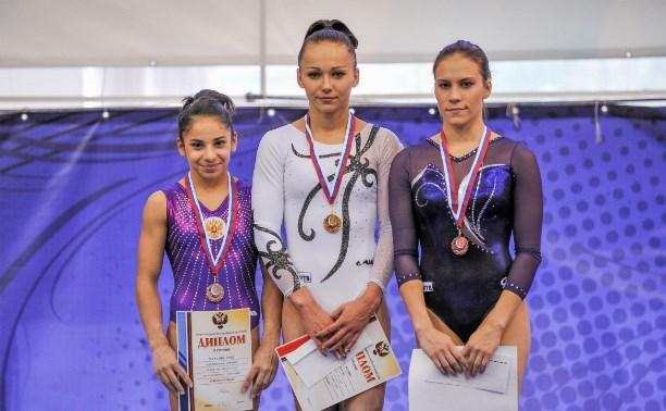 Ксения Афанасьева завоевала бронзу в Кубке России по спортивной гимнастике