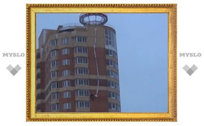 Альпинисты в Туле сняли «медведя» с 25-го этажа