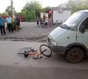 В Тульской области грузовая «Газель» сбила 9-летнего велосипедиста