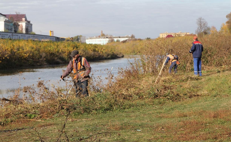 В Туле берега рек очистили от мусора