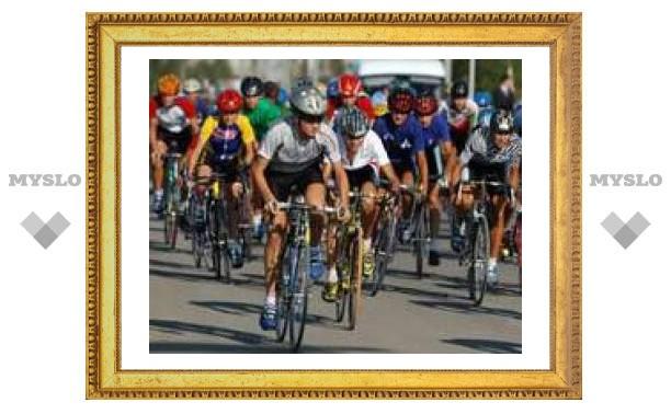 В Туле завершилась велогонка среди мужчин