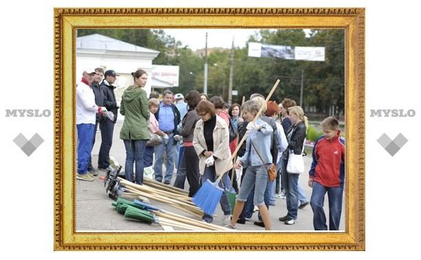 Тульские чиновники навели порядок в городе