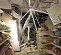 В тульском супермаркете обрушился потолок