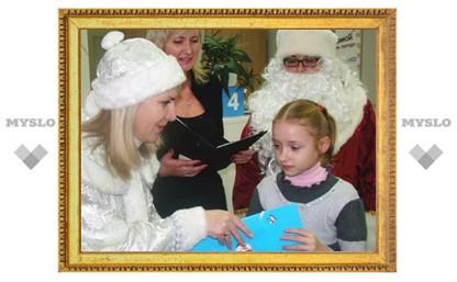 Туляки сто раз нарисовали Деда Мороза