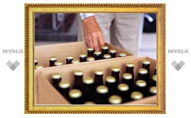 Полицейские Тулы изъяли 6 тысяч литров пива