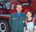 Юного спасателя выручили сотрудники тульского МЧС