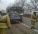 В аварии с рейсовым автобусом на трассе Тула-Липки погибли два человека