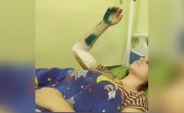 Туляки собрали деньги на лечение пострадавшей на пожаре школьницы