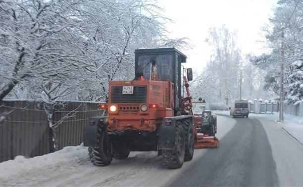 Тульская администрация не собирается отказываться от дорожных реагентов