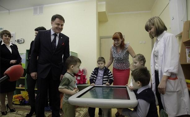 В регионе в шесть раз сократились очереди в детские сады