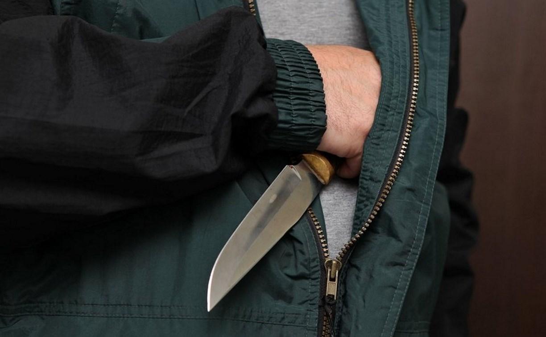 Житель Тульской области с ножом напал на полицейского