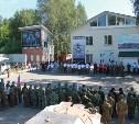 Команда из Тульской области впервые принимала участие в детско-юношеском триатлоне спецназа