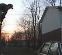 В Богородицке подростки изуродовали чужой автомобиль