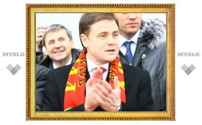 Владимир Груздев подарит «Арсеналу» миллион рублей