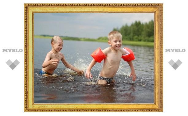 В Тульской области официально открыли купальный сезон