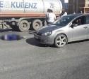 На проспекте Ленина девушка на Volkswagen Golf сбила пешехода