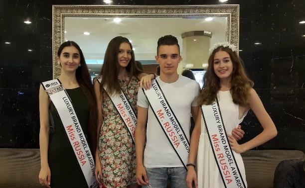 Тульские модели стали победителями на международном конкурсе Luxury Brand Model Awards 2016