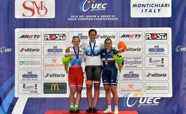 Туляки успешно выступили на Первенстве Европы по велосипедному спорту на треке