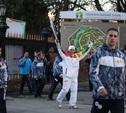 Эстафета олимпийского огня в Туле: проспект Ленина, Центральный парк