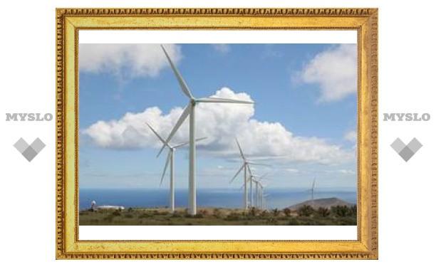 В Китае началось строительство гигантской ветряной электростанции