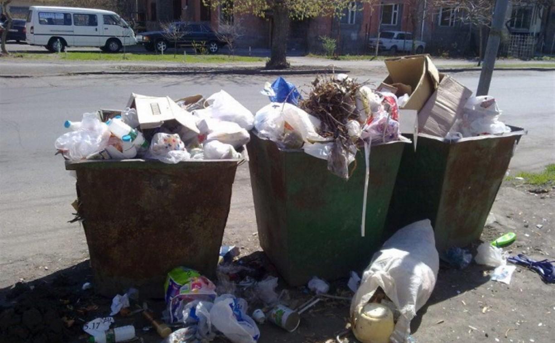 Тульские коммунальщики несколько месяцев не оплачивали вывоз мусора