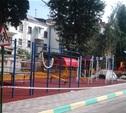 В Центральном районе Тулы дворы благоустраивают лучше, чем в Пролетарском