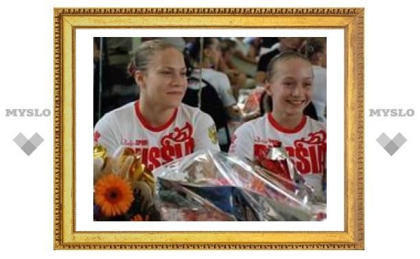 Тульские гимнастки вернулись из Пекина