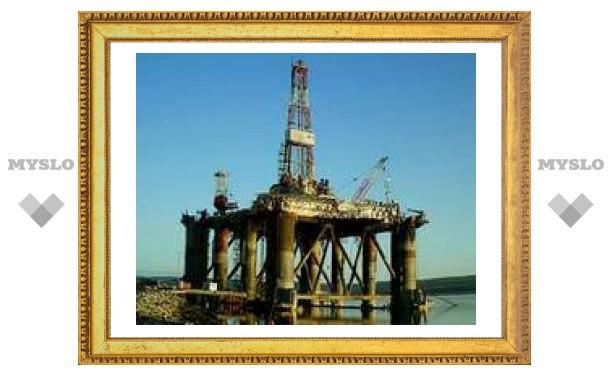 На нефтяной платформе в Северном море произошел пожар