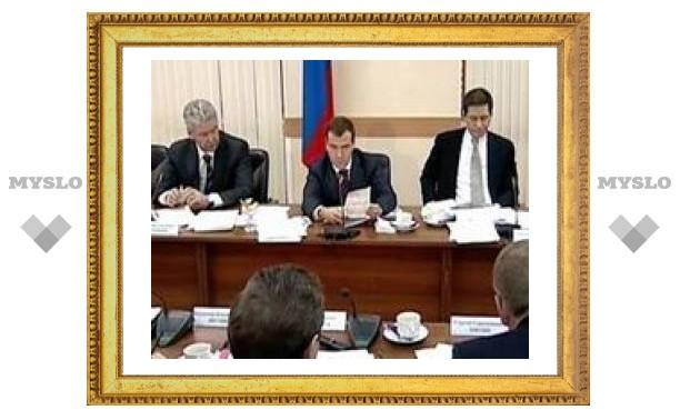 Медведев предложил оградить малые предприятия от поборов