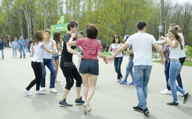 День Труда в Центральном парке Тулы: фоторепортаж