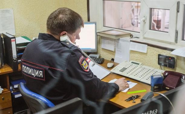 Пьяная жительница Кимовска вызвала в свою квартиру полицию ради развлечения