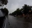 Из-за дождя тульские дороги ушли под воду