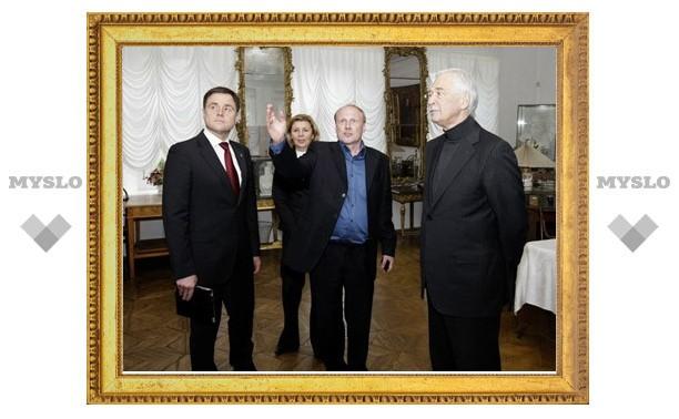 В ходе своего визита в Тулу Борис Грызлов посетил Ясную поляну