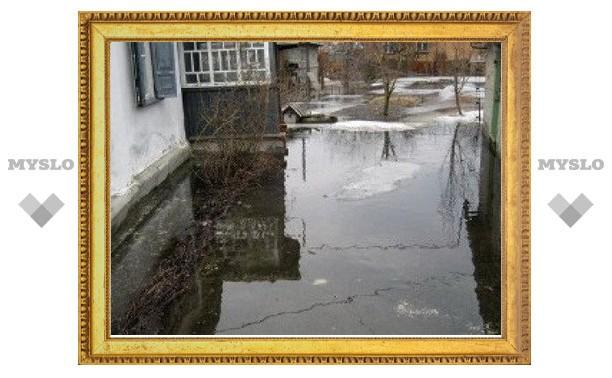 В Киреевском районе подтоплено 16 дворов