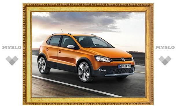 В России начали принимать заказы на внедорожный VW Polo