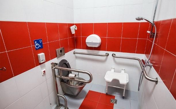 В Туле продолжают устанавливать общественные туалеты