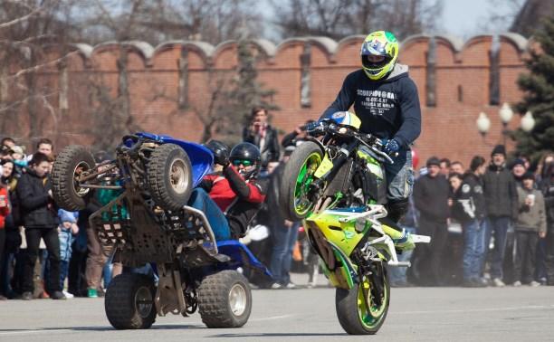 Тульские мотоциклисты объявили о закрытии мотосезона